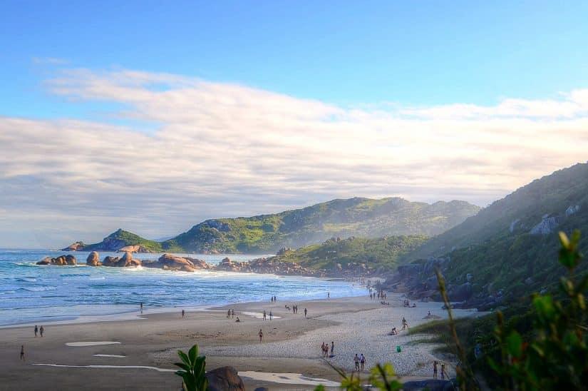 praia da galheta florianópolis