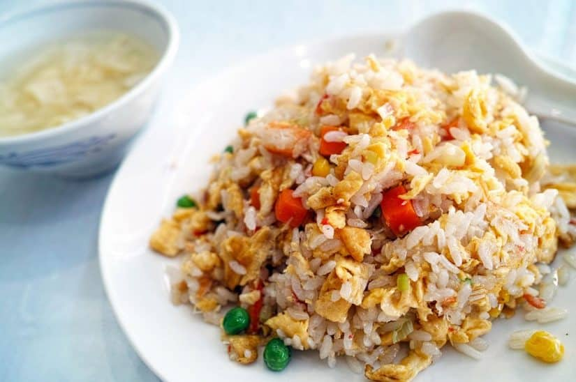 camboja alimentação