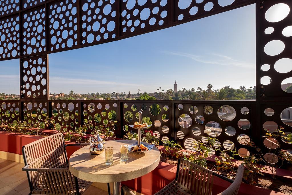 pontos turísticos de Marrakech rooftop
