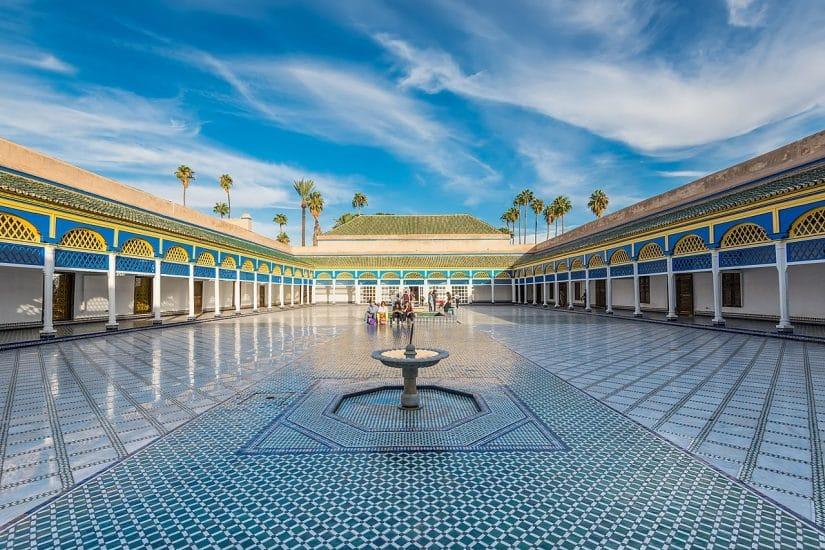 viajando para marrakech