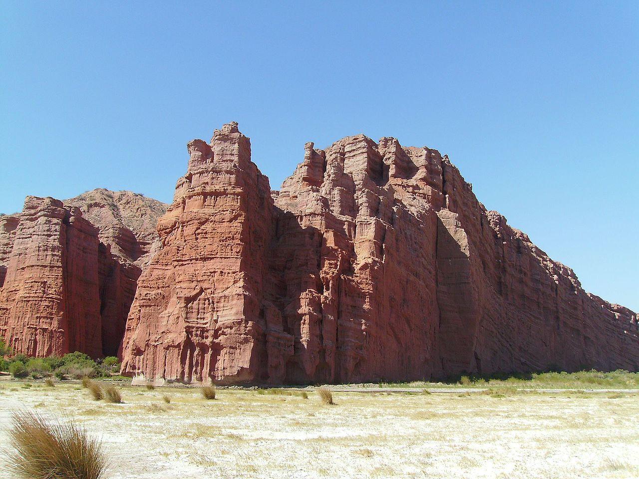 Quebrada de Cafayate Los Castillos