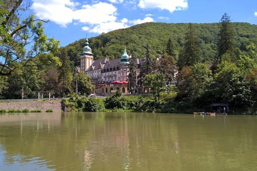 castelo hotel na hungria