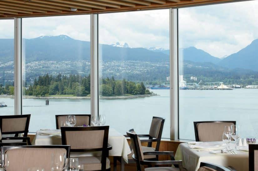 restaurantes com vista em vancouver
