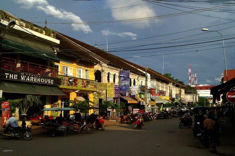 casas de câmbio em Siem Reap