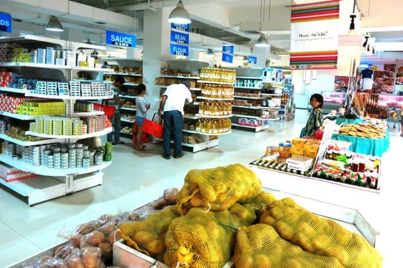 mercado em dili