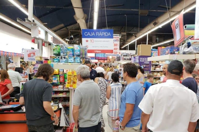 punta del este supermercado