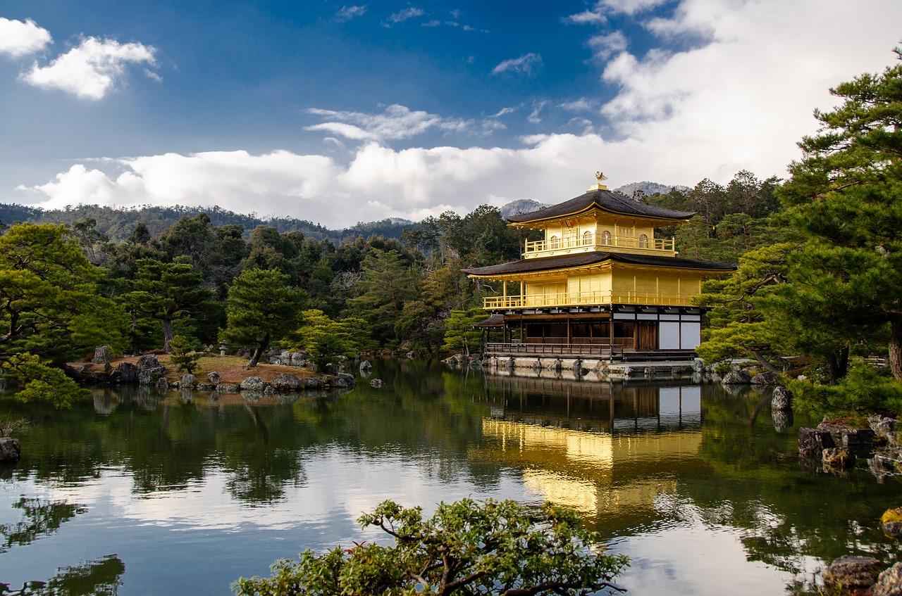 templo kinkaki-ji japão
