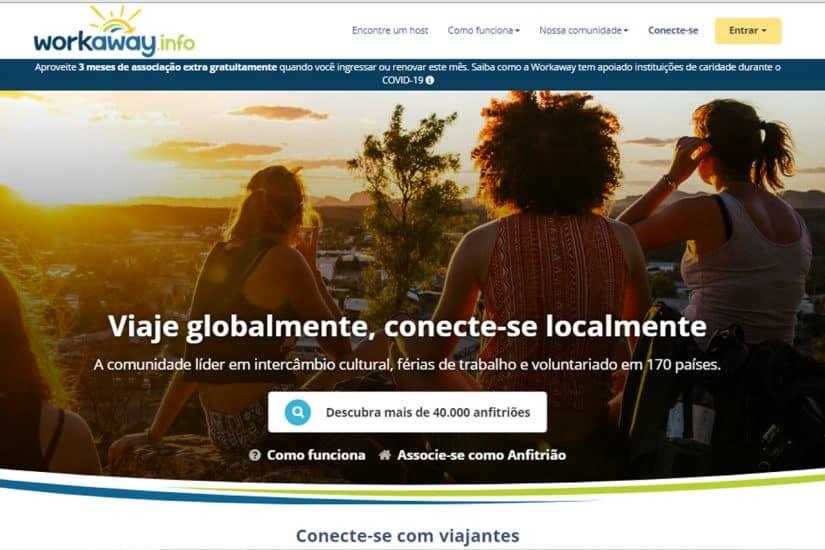 trabalho por hospedagem portugal