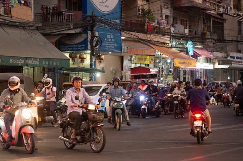 camboja tranporte