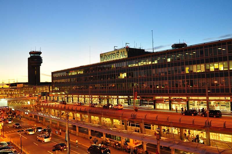 Transporte público no aeroporto de Montreal
