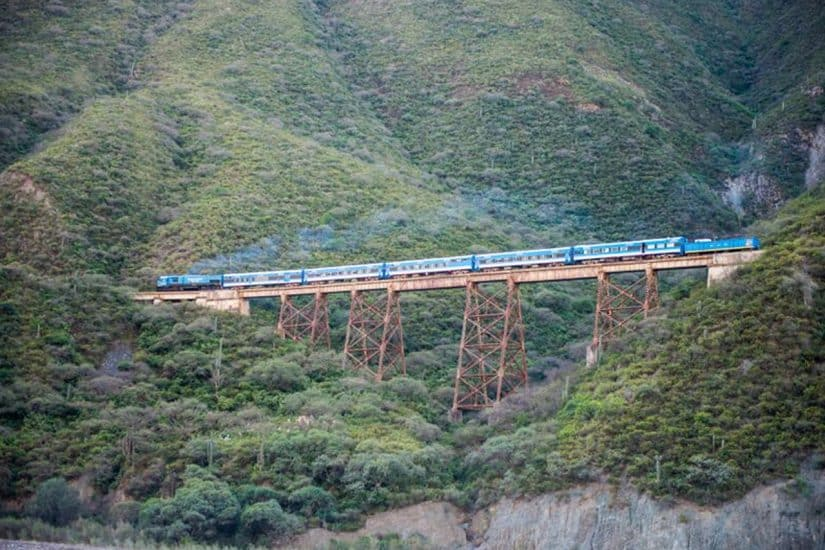 trem argentina chile