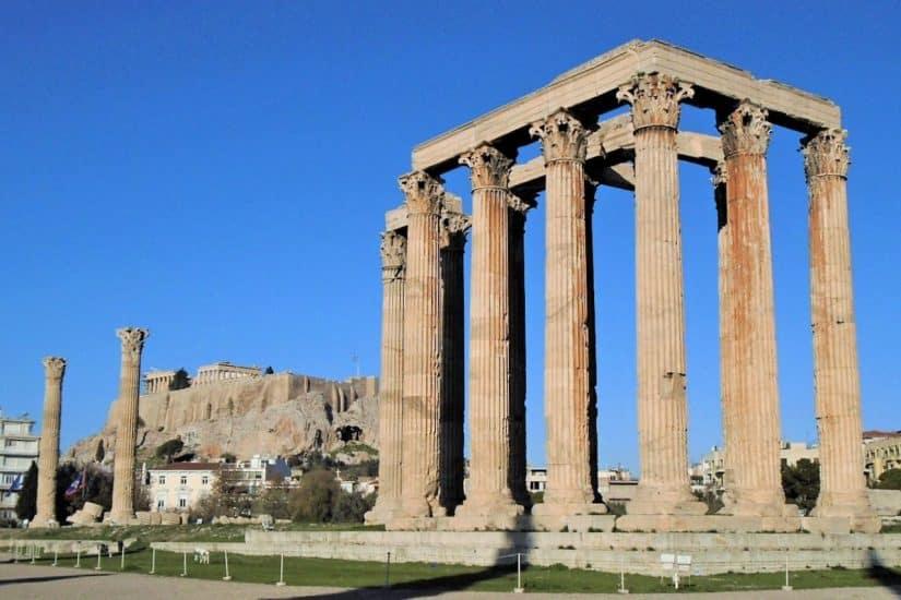 templos a grecia