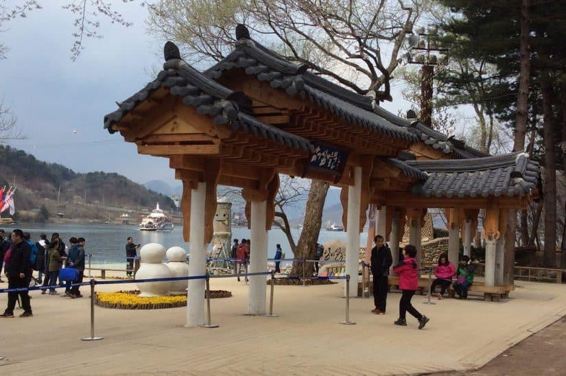 nami island coreia do sul