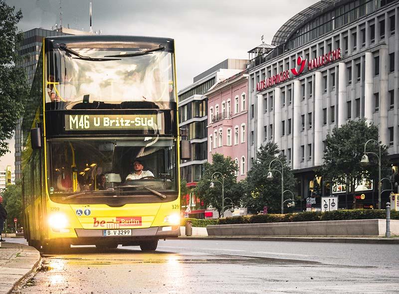 Preço do transporte público em Berlim