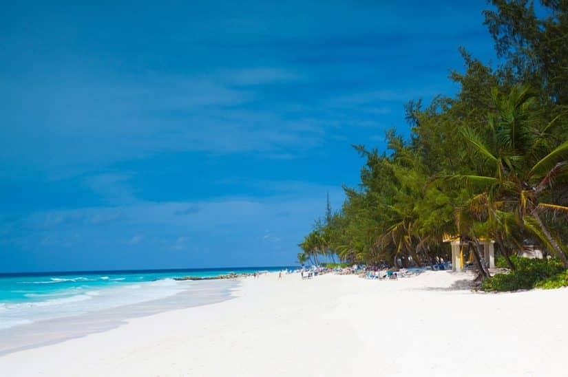 praias em barbados