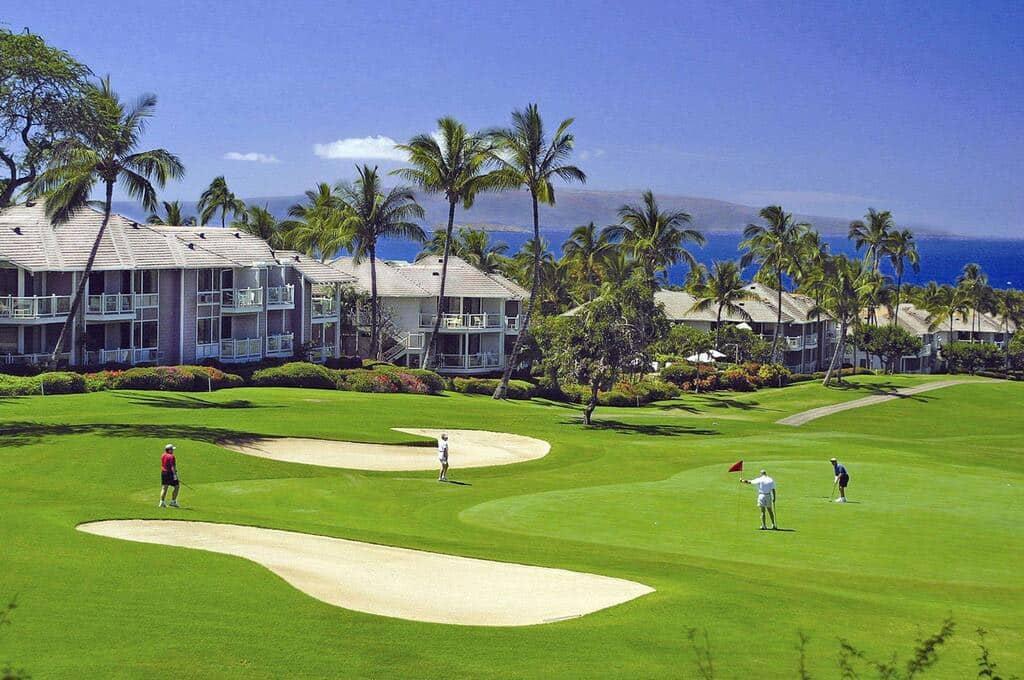 hotel com campo de golfe no hawaii