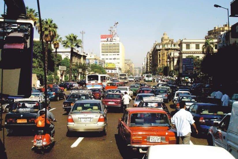 cuidados em viagem no Egito