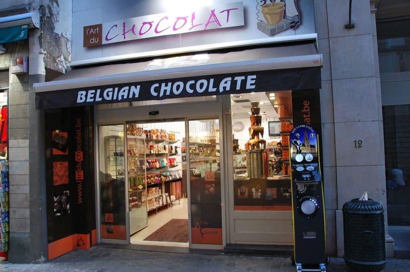 chocolate belga marcas