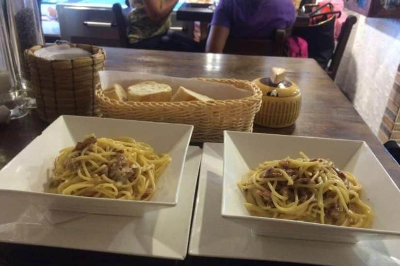restaurante italiano em san andres