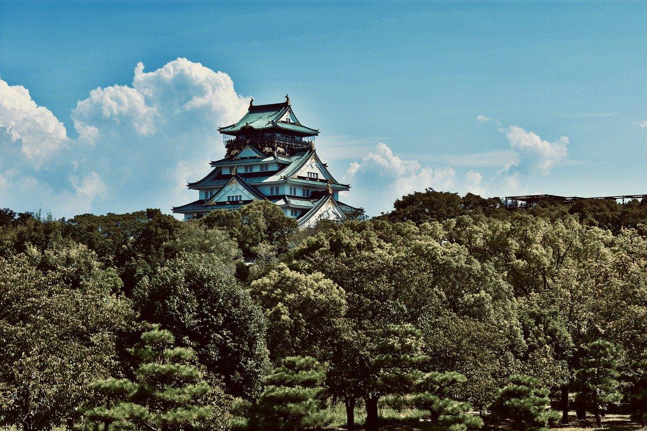 como chegar ao castelo japão