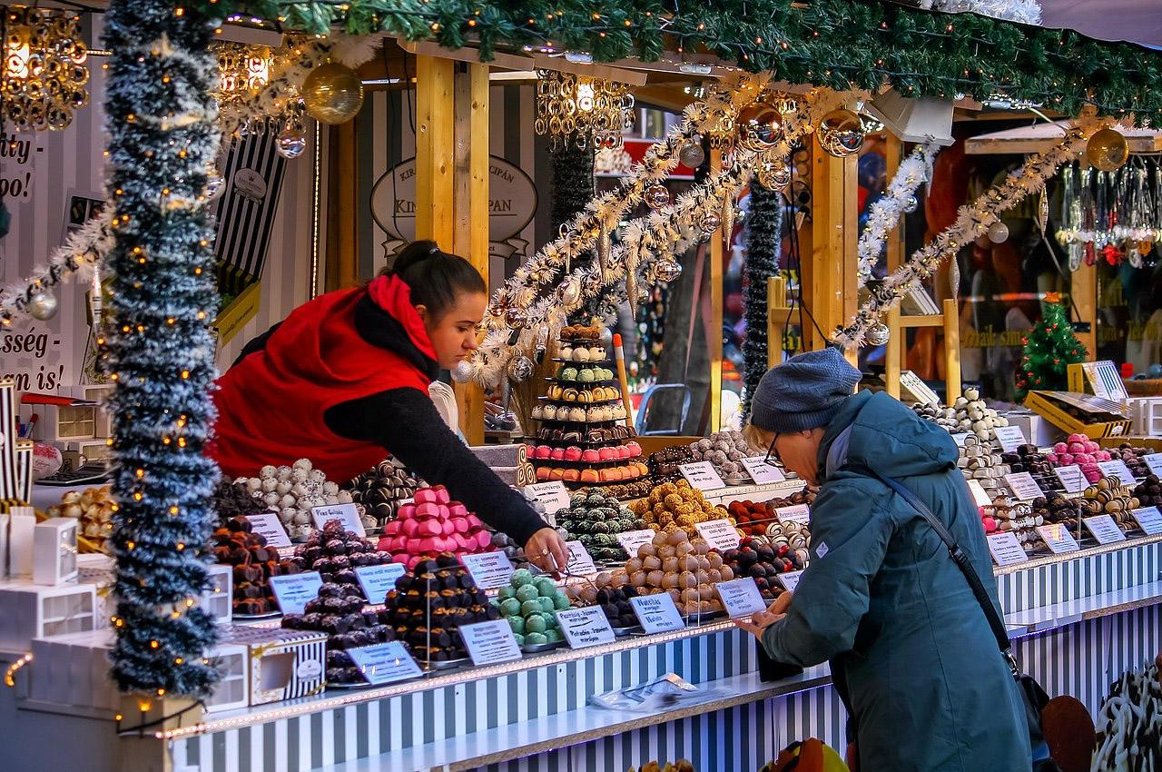 mercado de natal budapeste