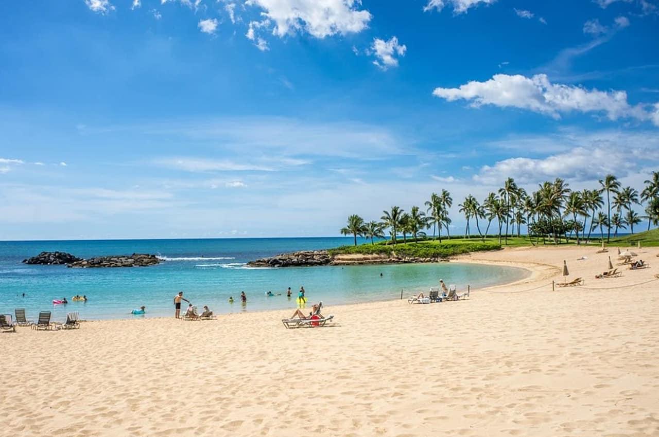 praias no hawaii
