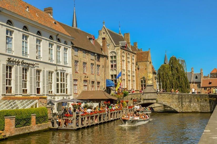 Roteiro em Bruges, na Bélgica