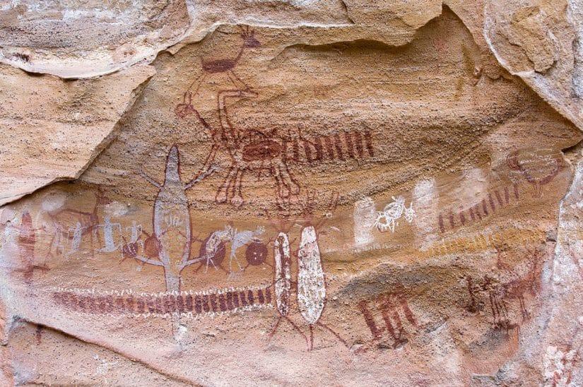 serra da capivara pinturas rupestres