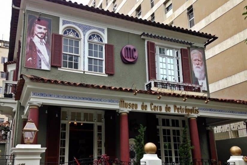 Museu de Cera pontos turísticos de Petrópolis
