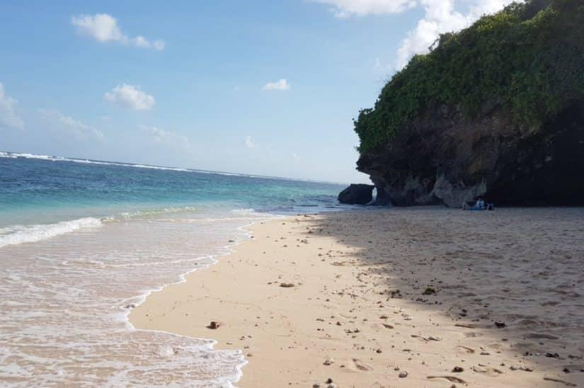 praias desertas bali