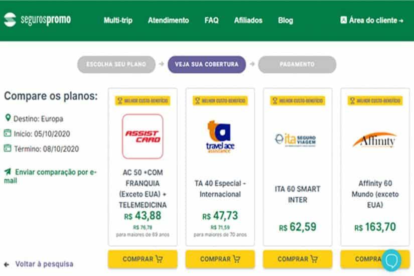 quanto custa viajar para Granada seguro viagem