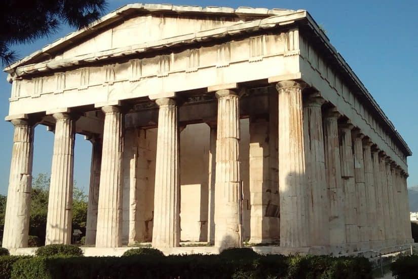 pontos de interesse na Grécia