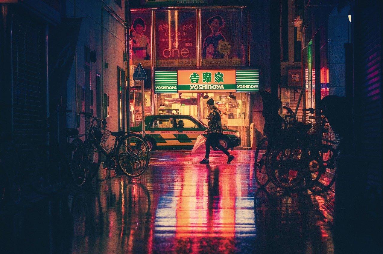 táxi e uber no japão