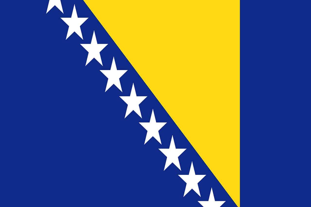 bósnia bandeira