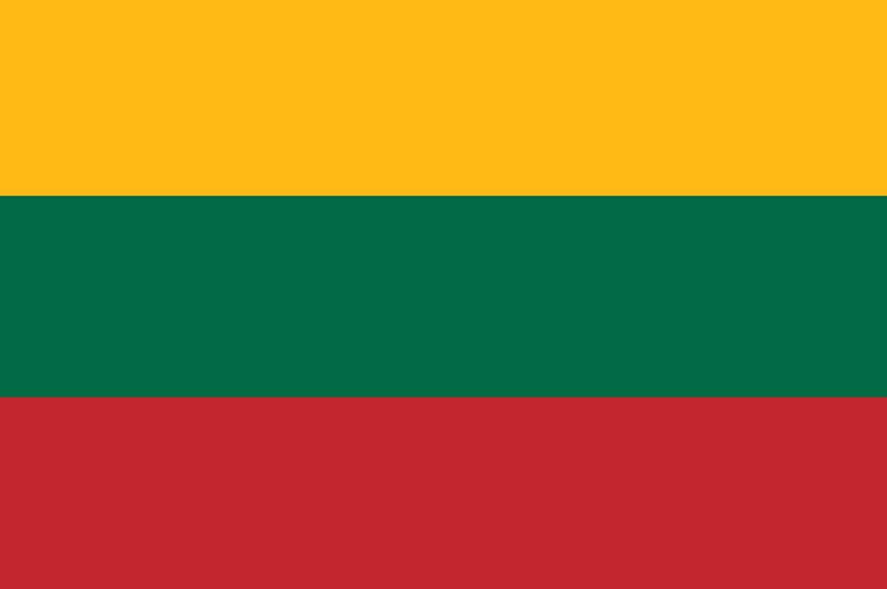 lituania bandeira