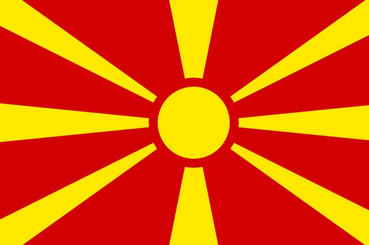 macedonia bandeira