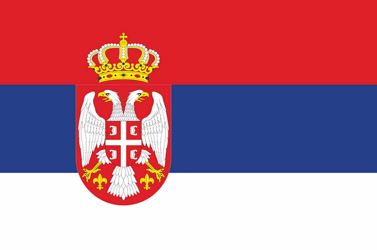 sérvia bandeira