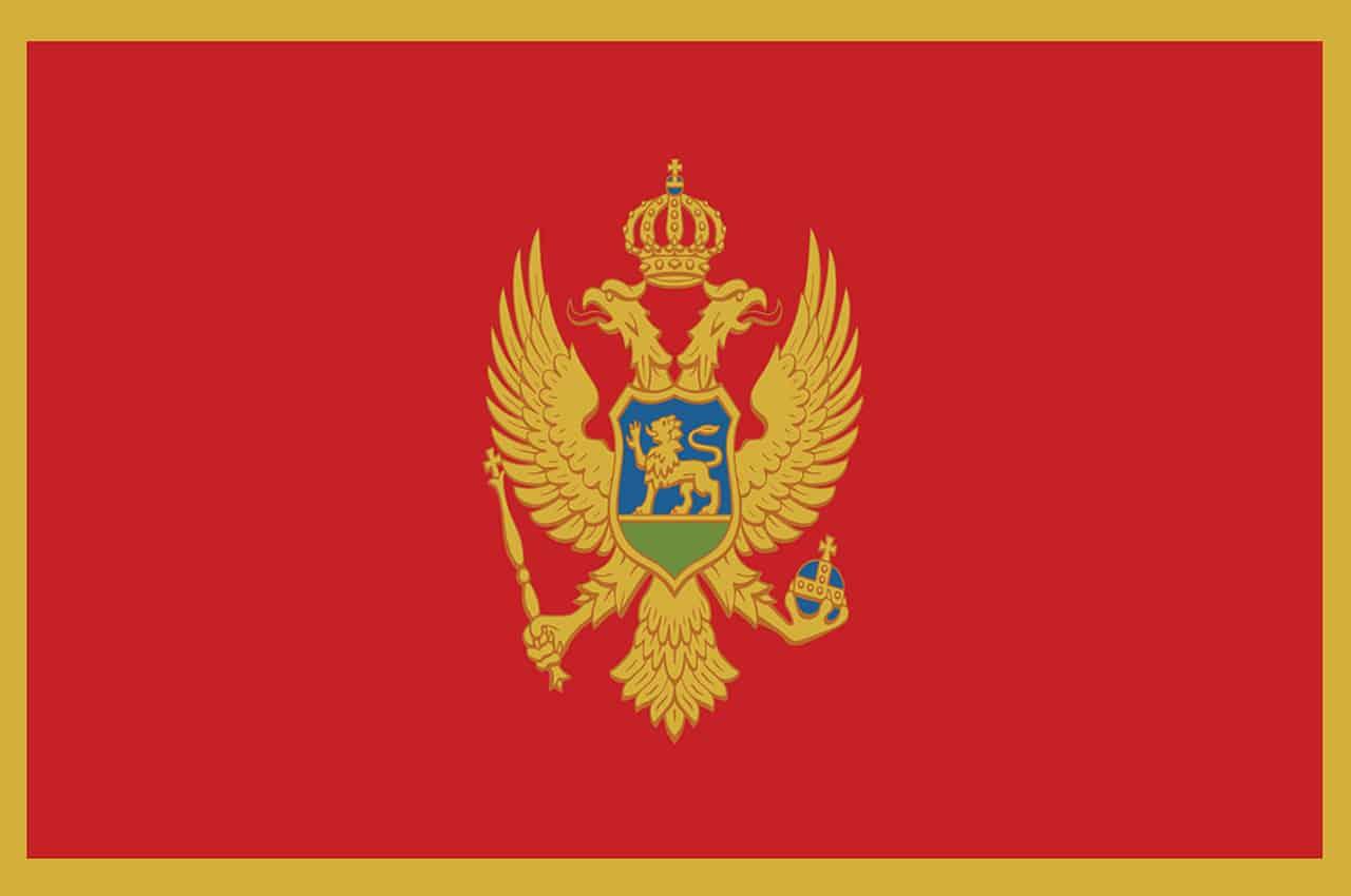 montenegro bandeira