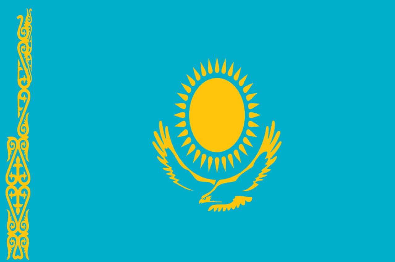 cazaquistao bandeira
