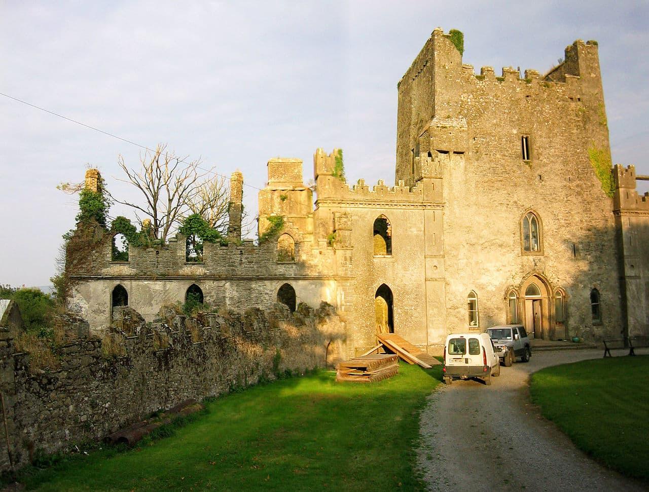 Castelo perto de Dublin