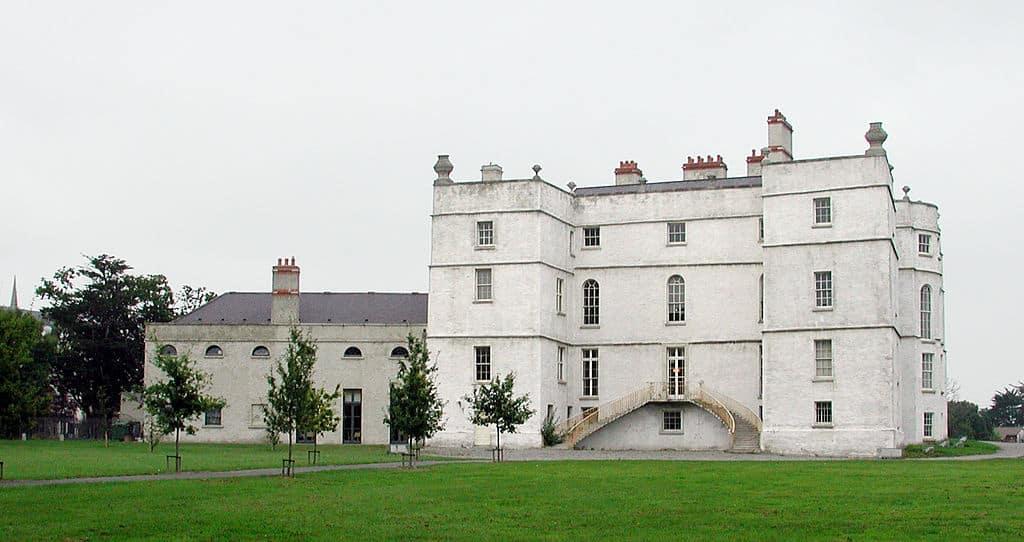 castelo abandonado na irlanda
