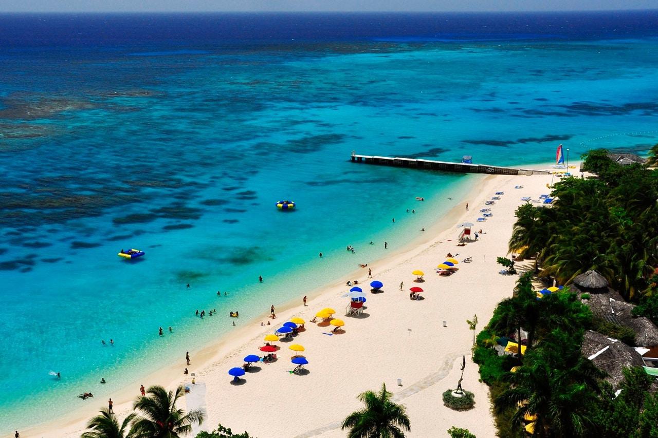 Montego Bay é uma das cidades da Jamaica