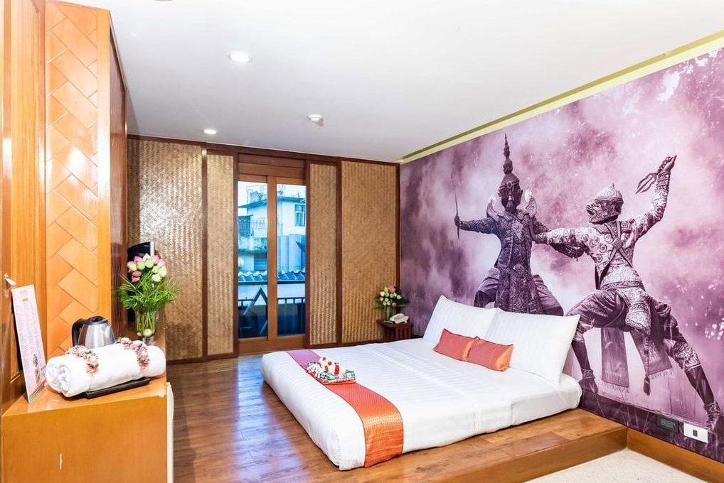 hoteis tipicos da tailandia