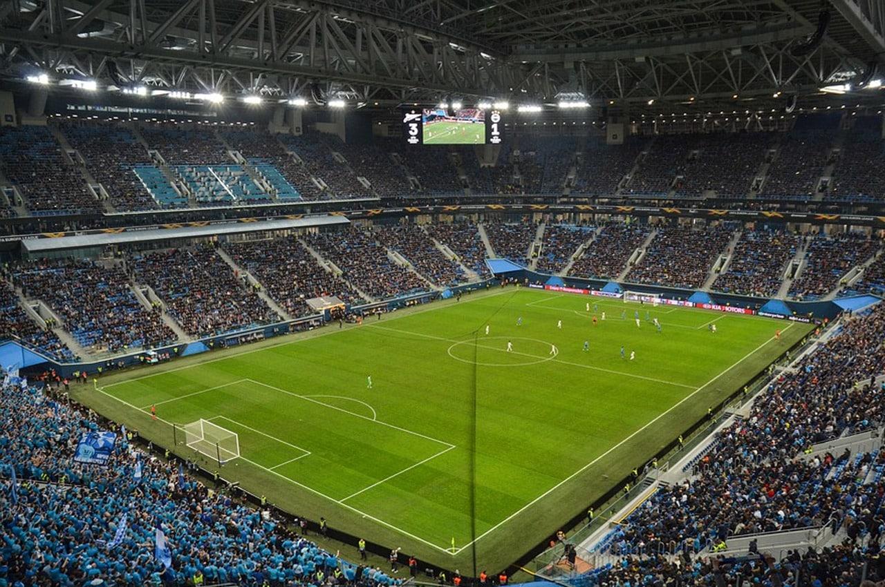 Liga dos Campeões na Rússia