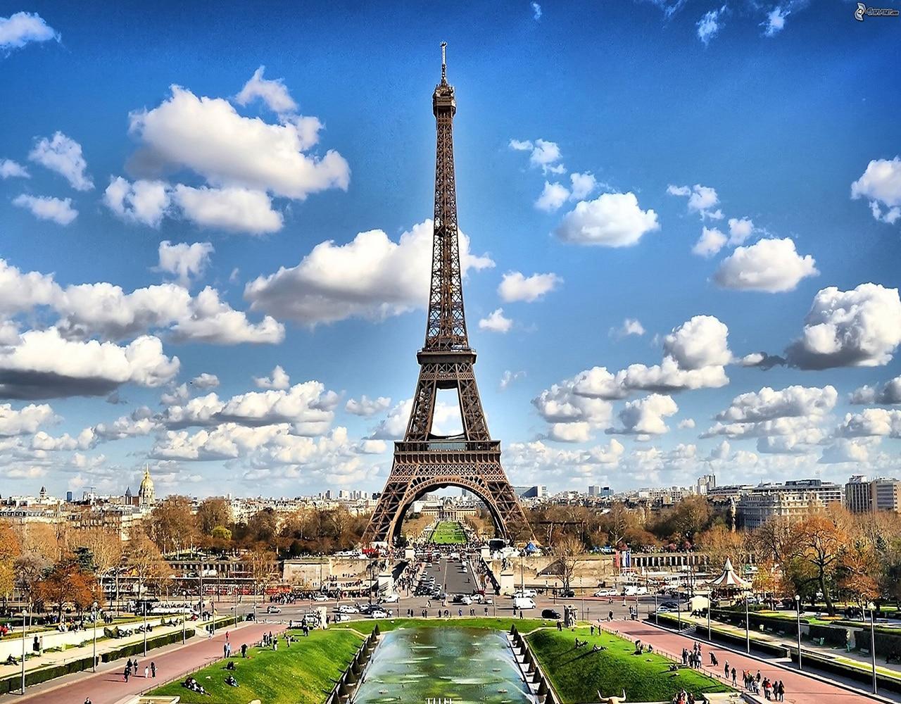 fotos de Paris no outono