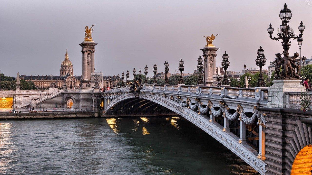 fotos de Paris no inverno