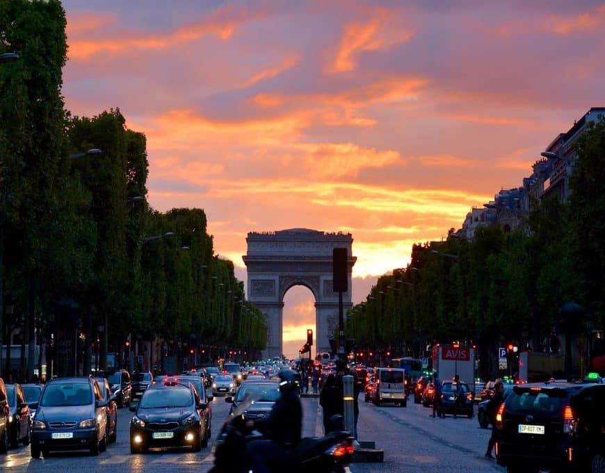 fotos de Paris franca