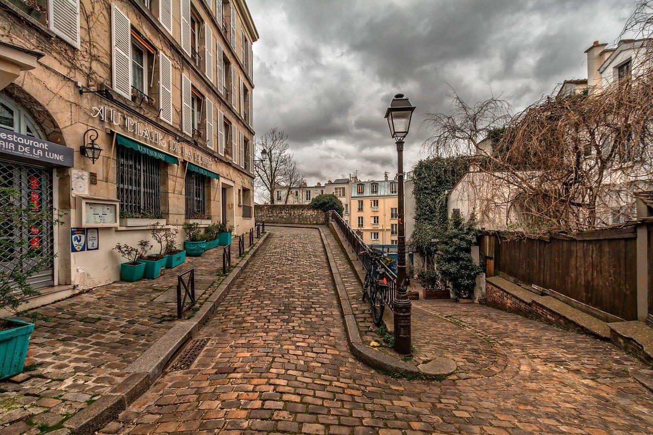 fotos de paris montmartre