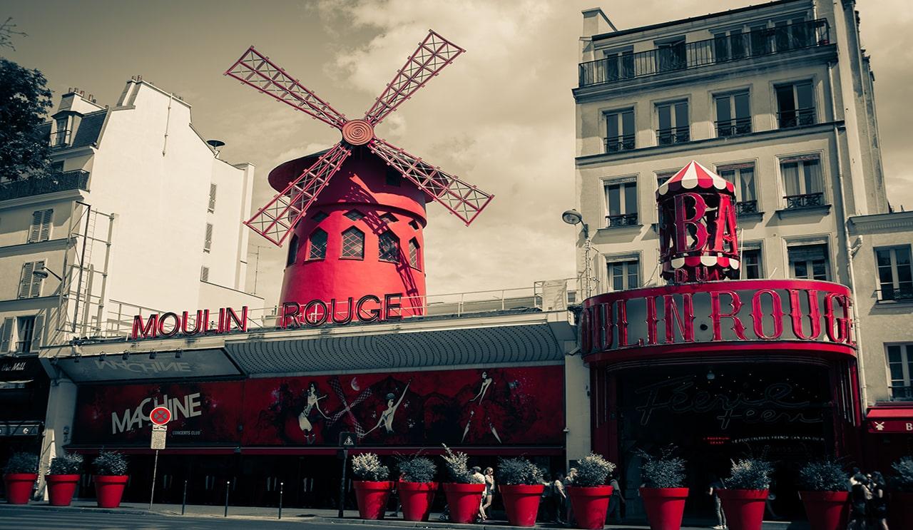 fotos de paris moulin rouge