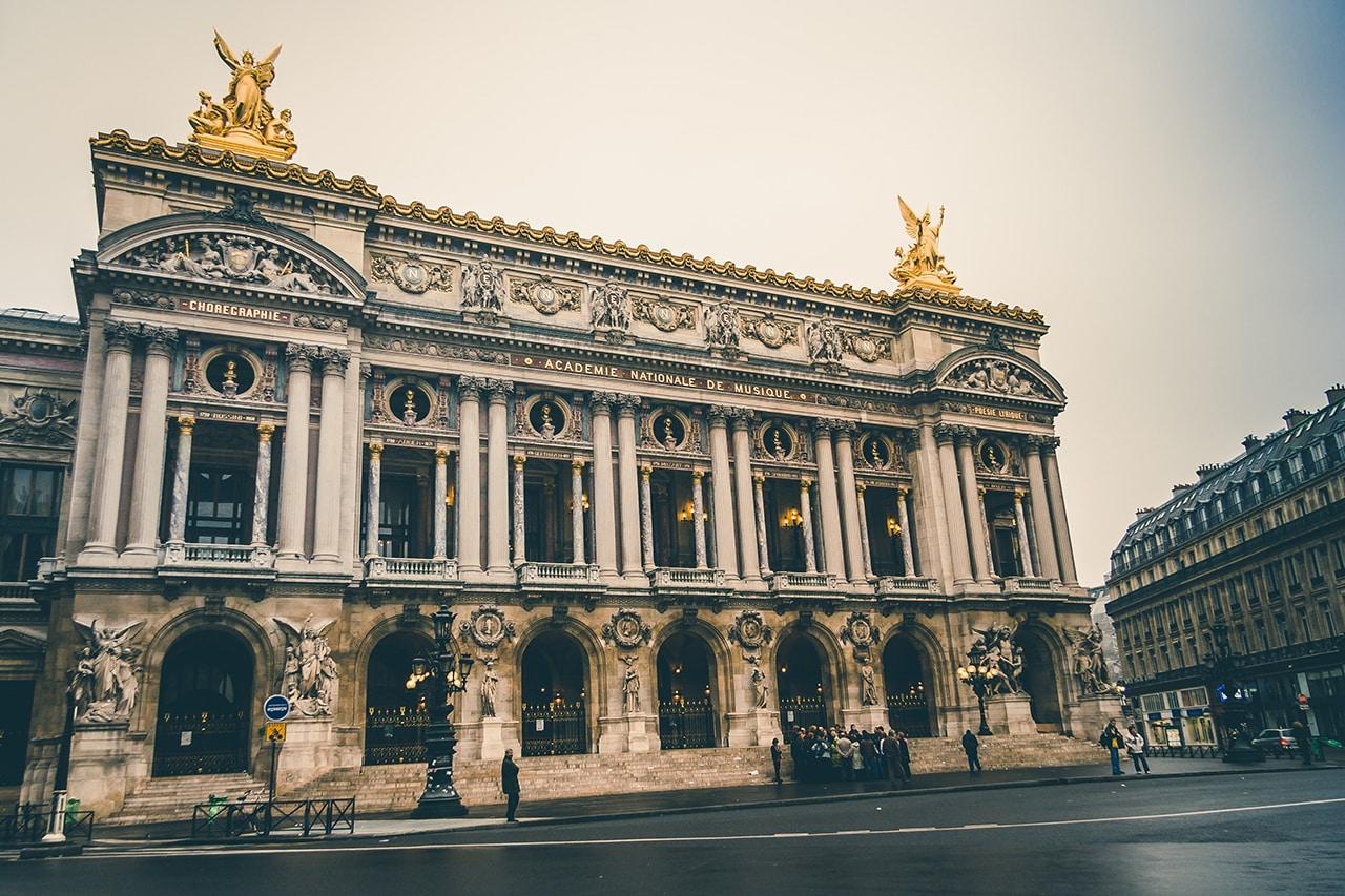 fotos de paris ópera garnier